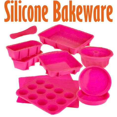 silicone cookware bakeware set baking molds 4 nonstick silicone bakeware set with round
