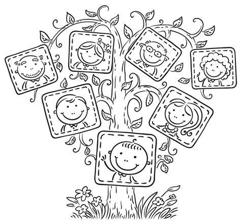 imagenes de la familia en dibujos dibujos de familia 174 im 225 genes para colorear y pintar