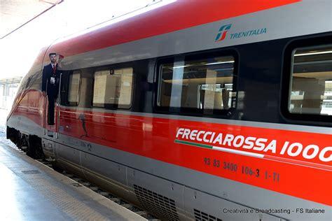 Carrozze Frecciarossa Le Foto E Gli Orari Nuovo Frecciarossa 1000 Da Roma A