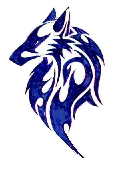 tribal wolf tattoo by dracula15 on deviantart