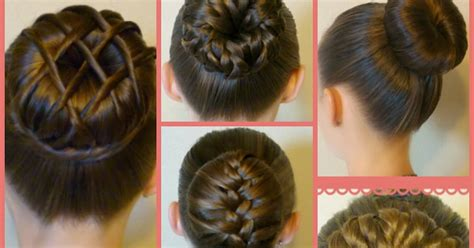 different ways of using a hair bun donut 7 ways to make a bun using a hair donut hairstyles for