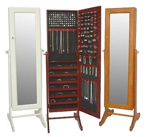 armoires a mirrored jewelry armoire must have for a