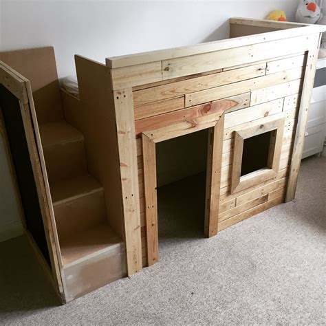 Kids Pallet Bed/Playhouse ? 1001 Pallets
