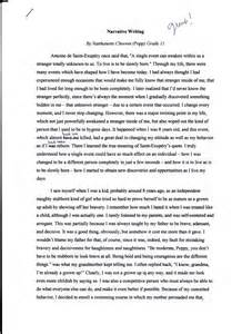 Running Is My Essay by A Change In My Narrative Essay