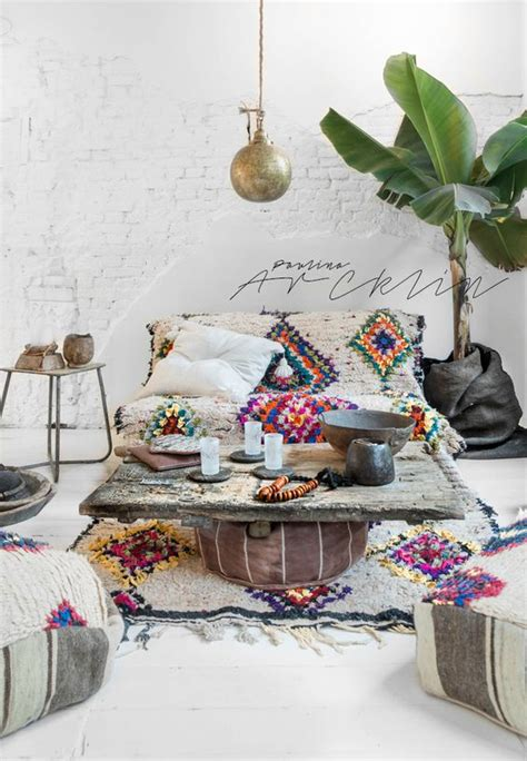 Bohemian Decorating Ideas bohemian living room decorating idea 15