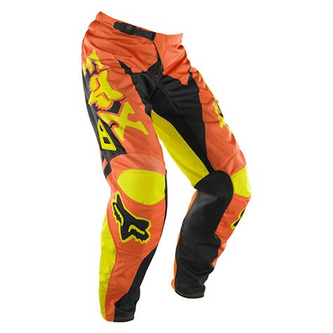 cheap fox motocross gear fox cheap mx gear hc 180 anthem orange motocross dirt bike