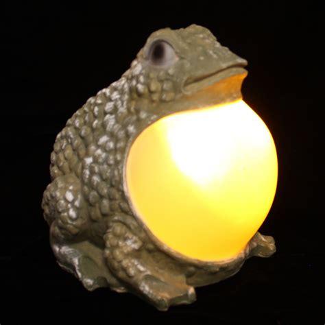 Frog Solar Lights Solar Garden Frog Solar Garden Statue