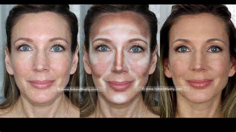 contour light sculpting before and after how to contour the contouring highlighting