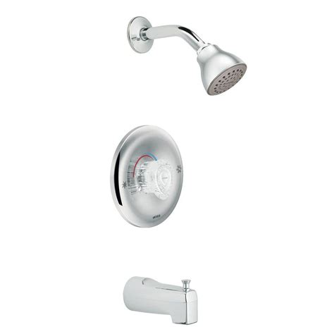 new bathtub and moen valve moen chateau posi temp single handle 1 spray tub and