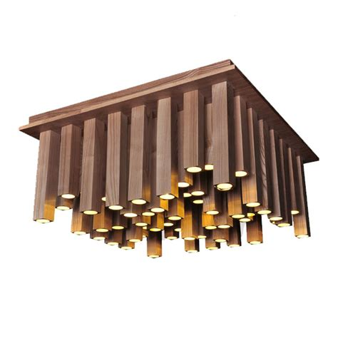 Shell Light Fixture Modern Original Wood Column Led Recessed Lighting 10780