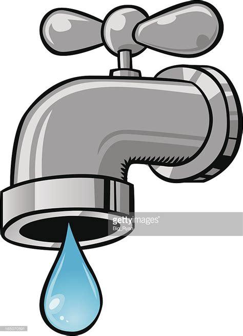 Kitchen Faucet Leaking cartoon faucet vector art getty images