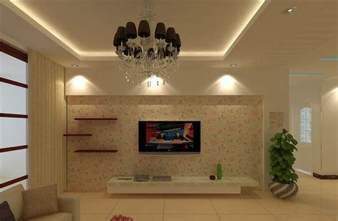 Livingroom Light by Living Room Lighting And Tv Wall Wallpaper 3d House