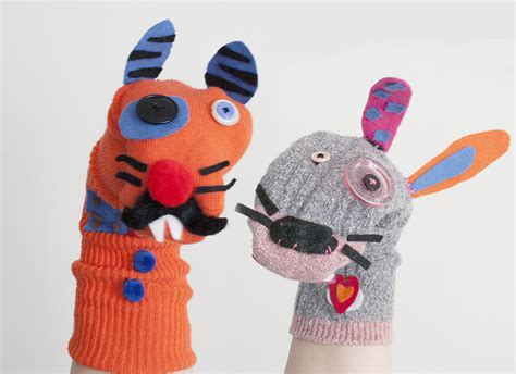 sock puppets crafts s day sock puppet craft