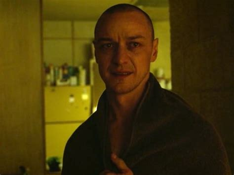 james mcavoy kevin wendell crumb james mcavoy was supposed to rap to a drake song in glass