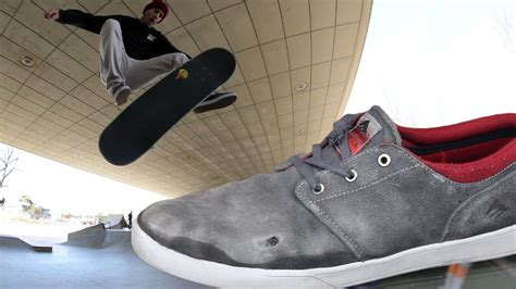 wearing skate shoes emerica figueroa skate shoes wear test review tactics