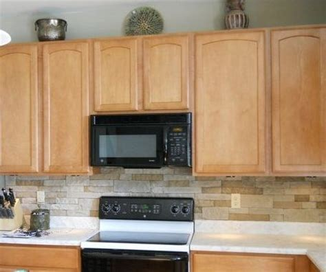 airstone faux and kitchen backsplash on