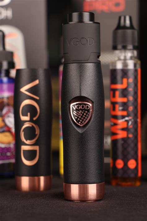 Vgod Elite Series Starterkit vgod elite series mech mod kit with pro drip 24 mm great quality original not clone buy vgod