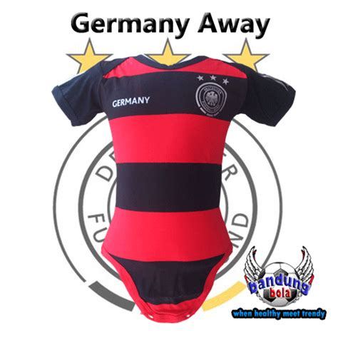 Baby Jumper Bola Bayi Dortmund baby jumper germany away world cup 2014 happy pupu baby