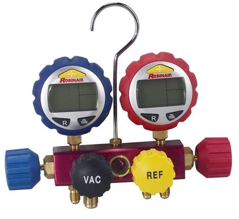 Manifold Robinair save on robinair 43160 4 way digital manifold at toolpan