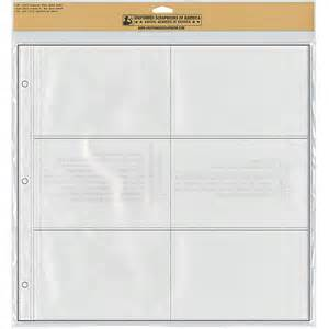 photo album page refills uniformed scrapbooks photo album refill sheets crafts walmart