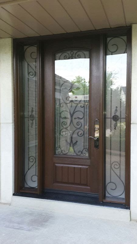 Iron Front Entry Doors Wrought Iron Exterior Doors Front Entry Doors