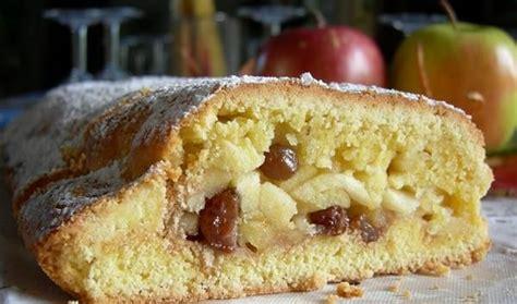 dolci mantovani strudel di mele ricetta dell alto adige