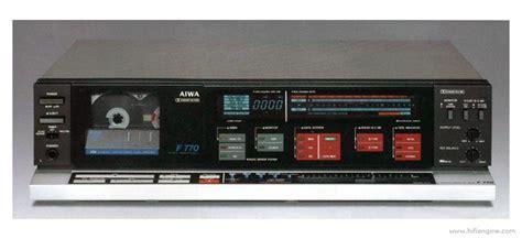 aiwa cassette deck aiwa ad f770 manual 3 stereo cassette deck hifi