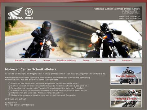 Honda Motorradh Ndler Berlin by Motorrad Center Schmitz Peters Gmbh In Wesel Motorradh 228 Ndler