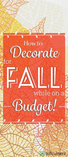 fall decor on a budget decorating on a budget budget and fall decorating on