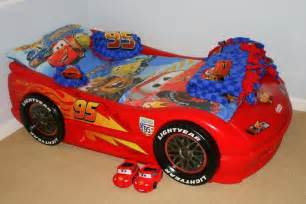 Lighting Mcqueen Car Bed Disneycartoys Cars Themed Bedroom Disney Cars Toddler