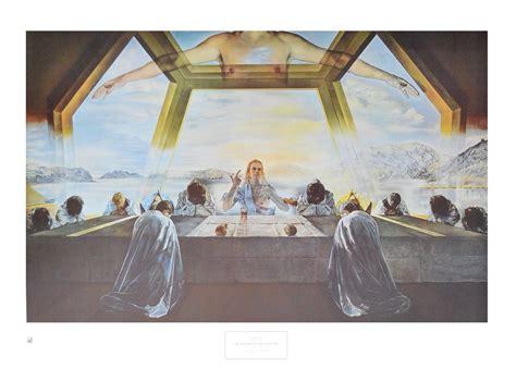 salvador dal das malerische 383654489x salvador dali das letzte mahl poster kunstdruck bild 60x86cm ebay