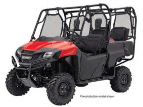 4 Seater Models Honda Announces Brand New 2014 Models Honda Pioneer 4