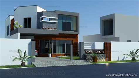 home design for plot 3d front elevation com 8 marla house plan layout