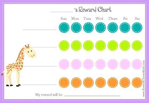 free printable animal reward charts animal reward charts