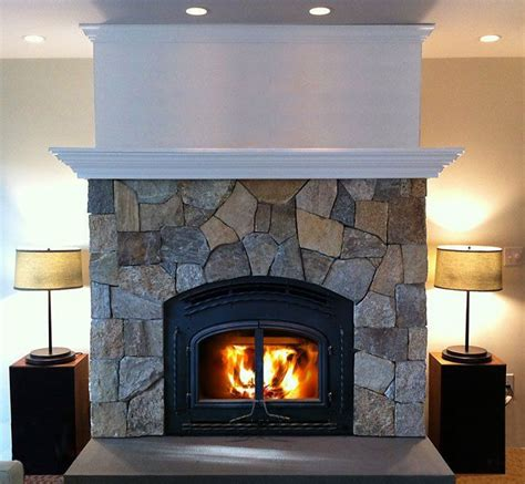 Faux Fieldstone Fireplace by 59 Best Images On