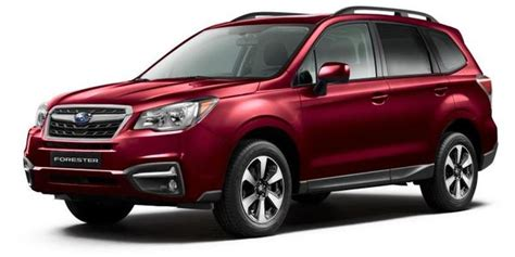 subaru forester red 2017 2017 2 5i subaru forester venetian red pearl lp