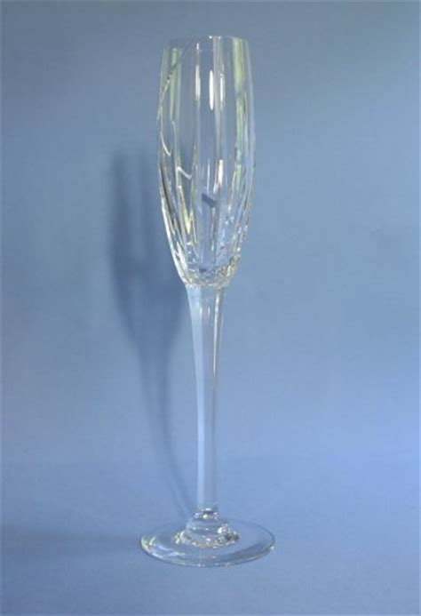 mikasa northern lights fluted chagne glass