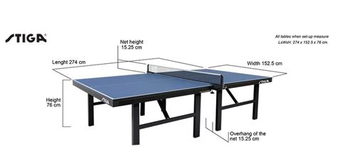 ping pong table size ping pong table length and width brokeasshome com