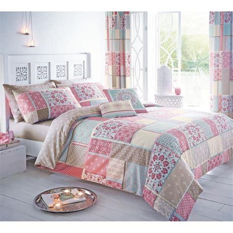 Pink Pattern Duvet | dreams n drapes shantar pink pattern duvet set dreams n