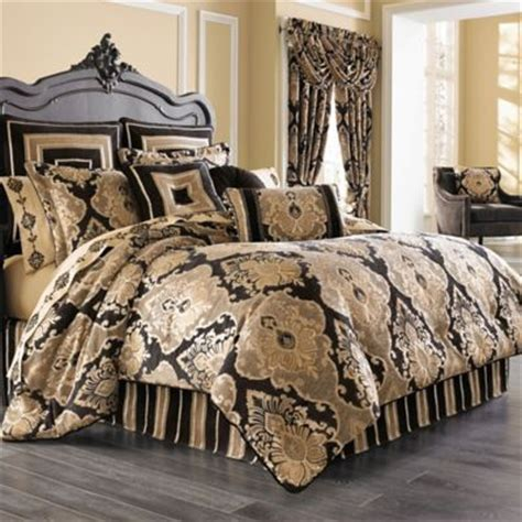 black and gold queen comforter set buy j queen new york heritage coral california king