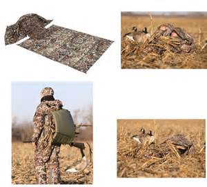 ground layout blind banded max 4 keyhole layout backpack waterfowl goose