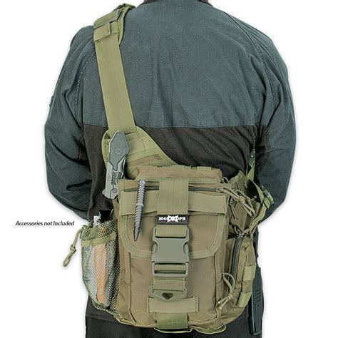 tactical sling bag m48 gear tactical waist sling bag messenger bag od