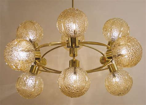 Large Globe Chandelier Exceptionally Large Orbital Globe Chandelier In Brass At