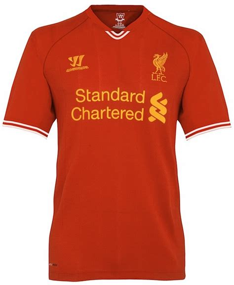 Jersey Langka Liverpool 13 14 Home Kit is this liverpool s new home shirt for the 2013 14 season photo world soccer talk