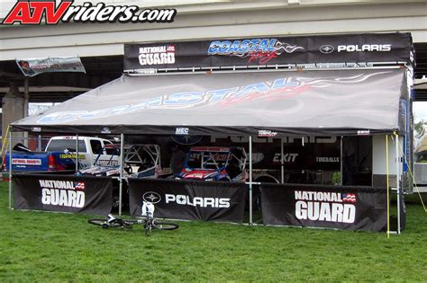 race awnings yokley racing displays team hauler at annual thunder over