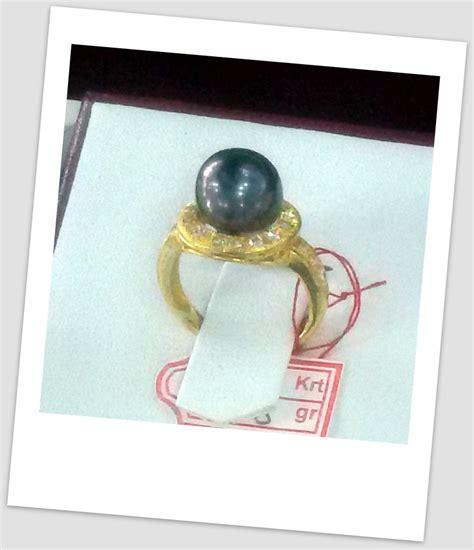 Promo Cincin Mutiara Lombok Air Tawar Khas Sekarbela 1 cincin mutiara emas 0071 harga mutiara lombok perhiasan
