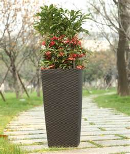 Square Black Vase Large Outdoor Vases Large Vase Decor Large Floor Vase