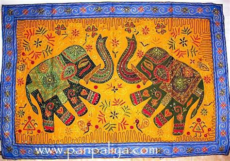 Handmade Wall Hangings Indian - tribal indian handmade wall hanging embroider