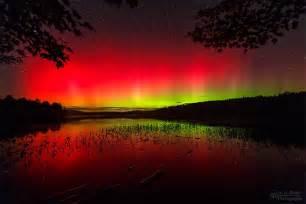 Northern Lights New Hampshire Atmospheric Phenomena Aurora Borealis Wonderful Thing In