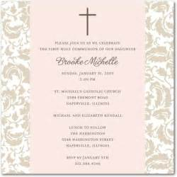 simple floral communion invitations invitation crush